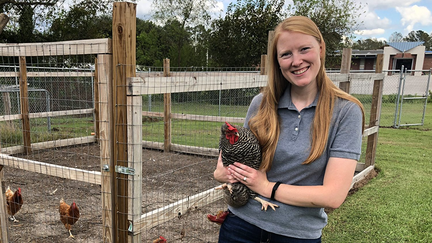 CALS Alumna Ag Teacher Jillian Ford