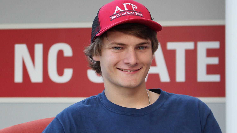 NC State student Ben Alig