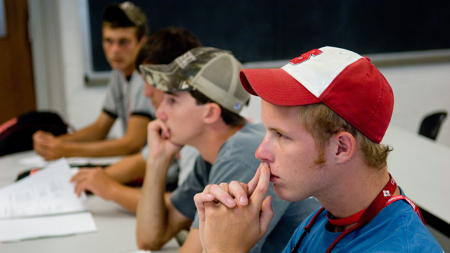 Students in an Agricultural Institute Class..By Becky Kirkland