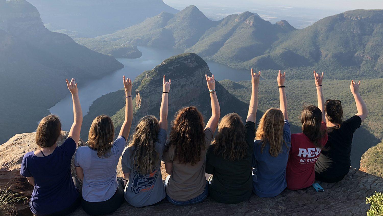 CALS NCSU Students Shweta Trivedi South Africa