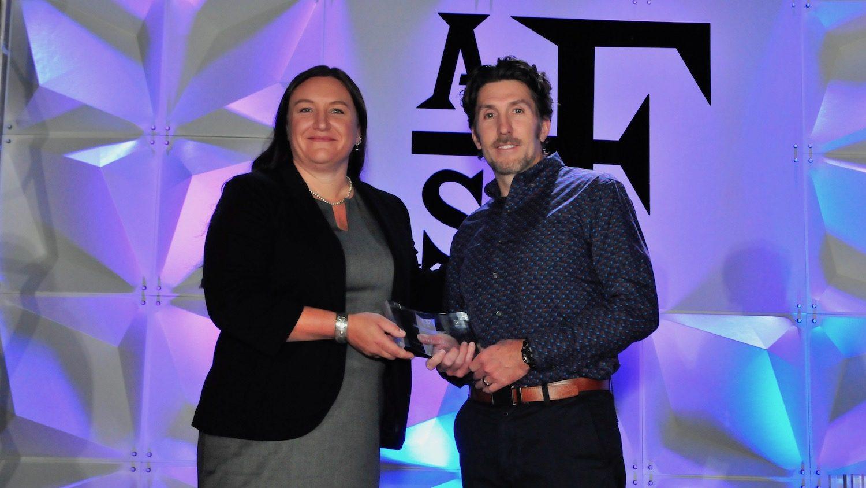 Derek Aday American Fisheries Society Fellow Award