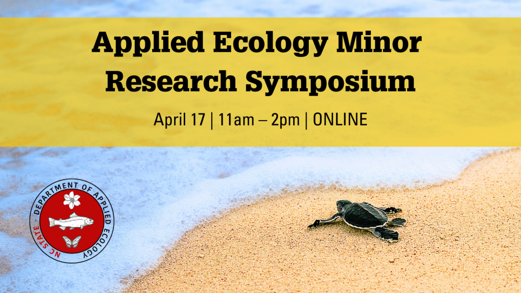Applied Ecology minor research symposium