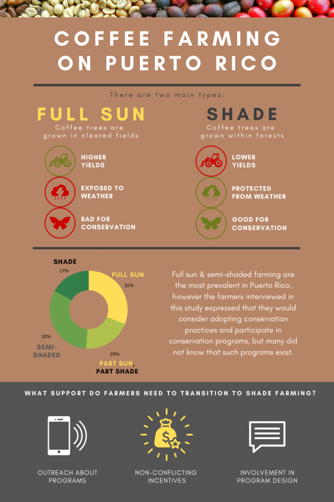 Puerto Rico sun to shade farming infographic