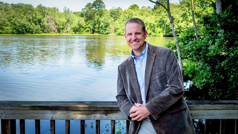 Dave Herpy at Lake Raleigh