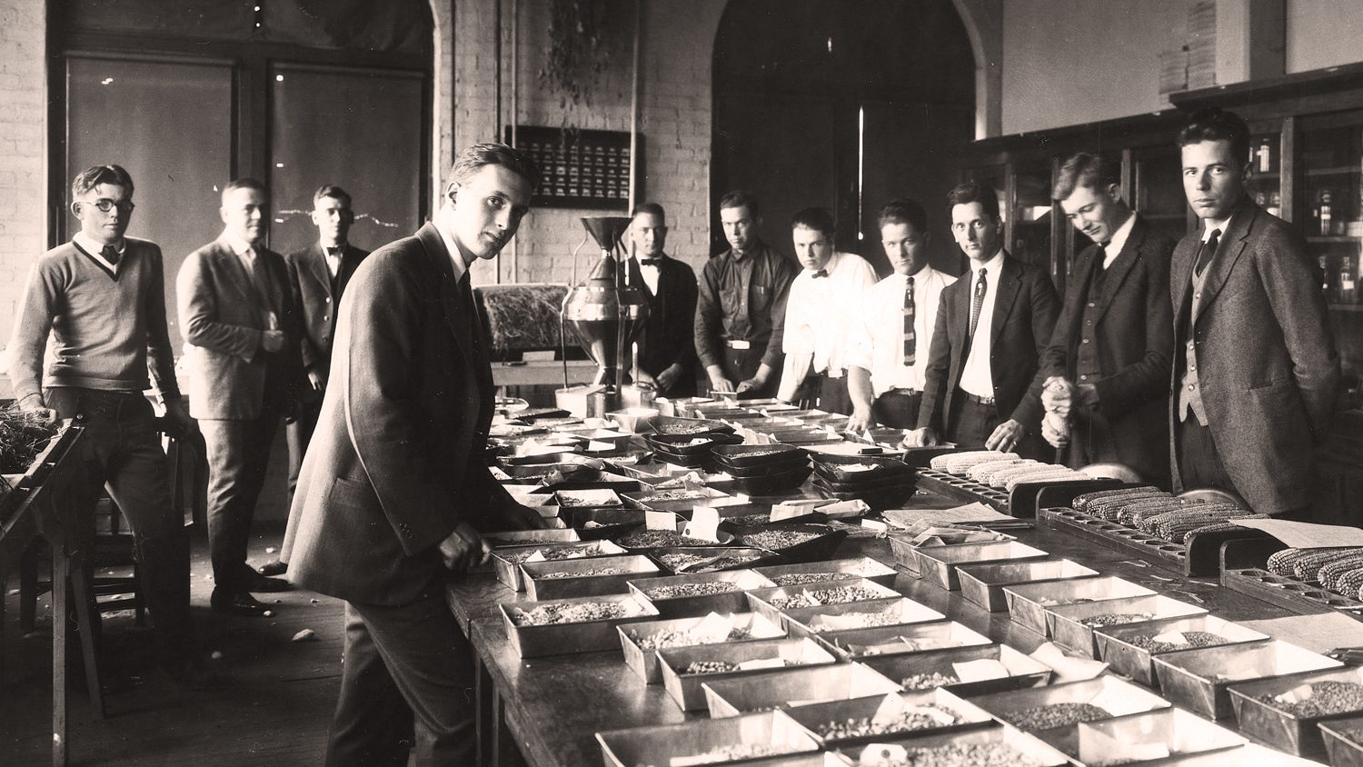 1920s agronomy class at NC State