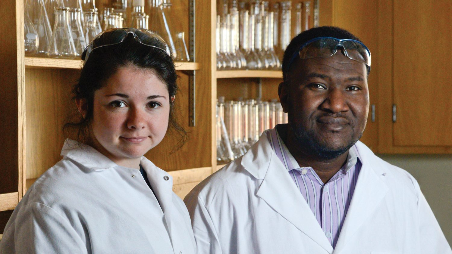 Researchers at NC State's Crop and Soil lab