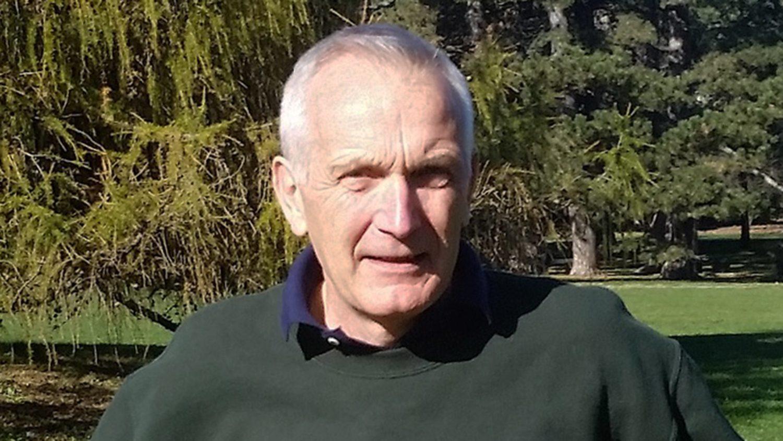 Dr. John Beghin outside