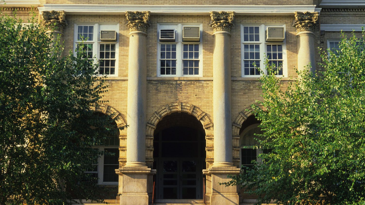Front exterior of Patterson Hall