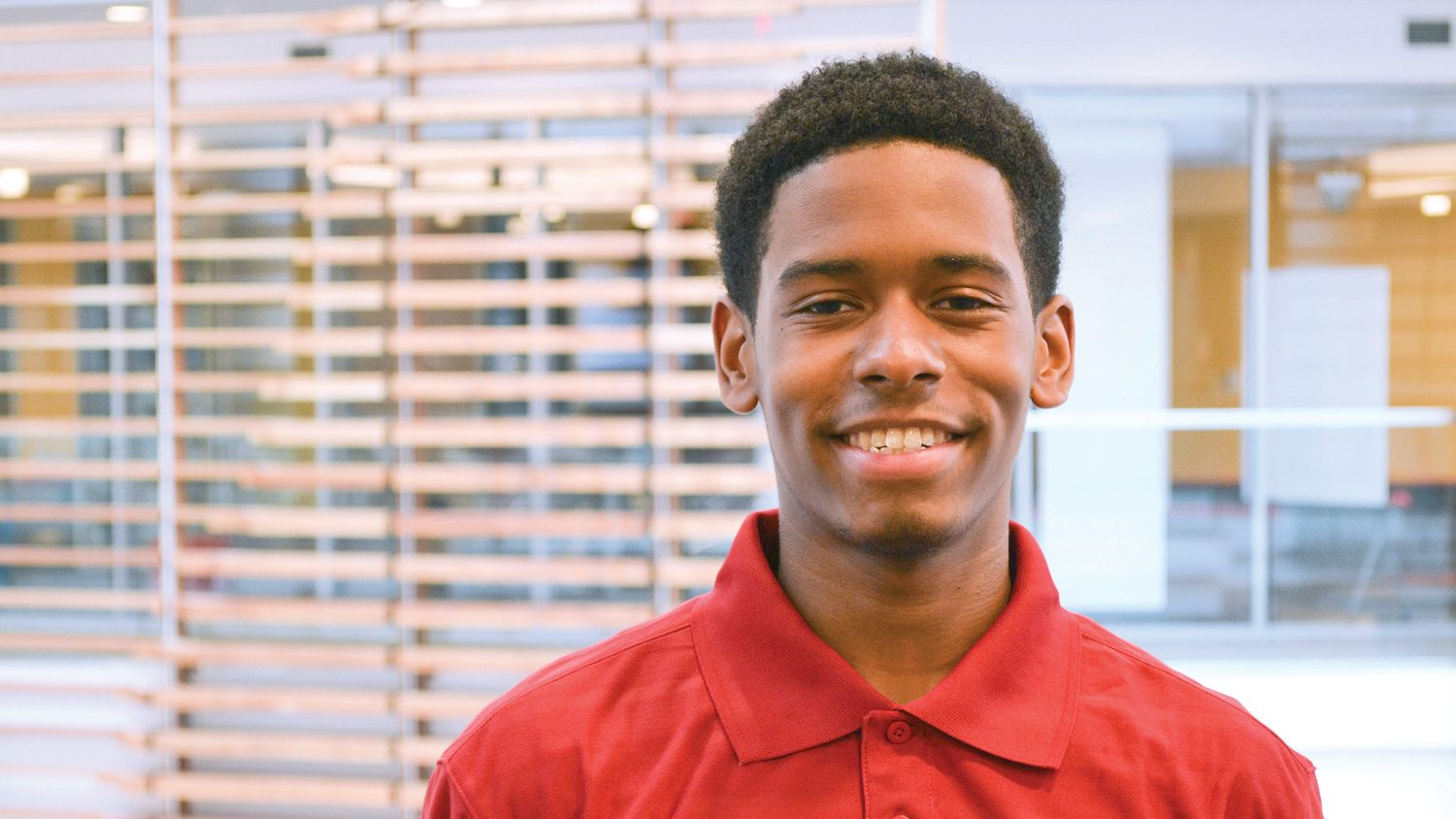 CALS Agricultural Institute student Roman Lawrence.