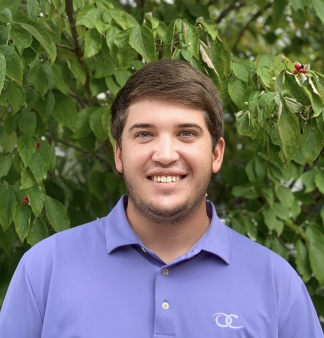Crop and Soil Sciences turfgrass student Marcus Davenport