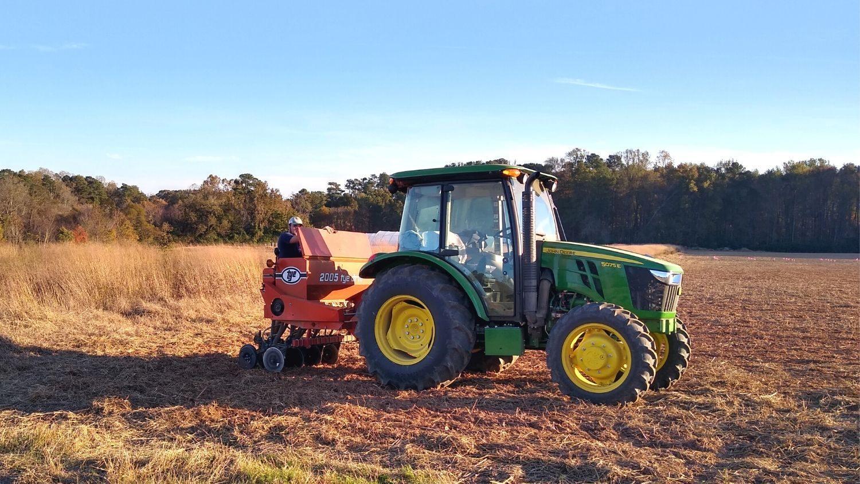 NC State teaching gardens get new John Deere tractor