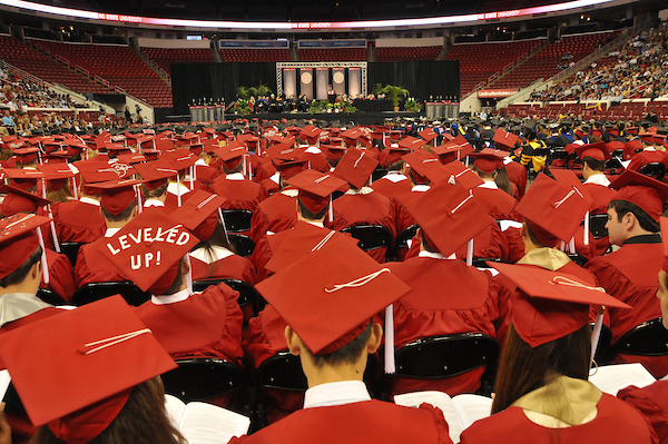 Group of NC State graduates