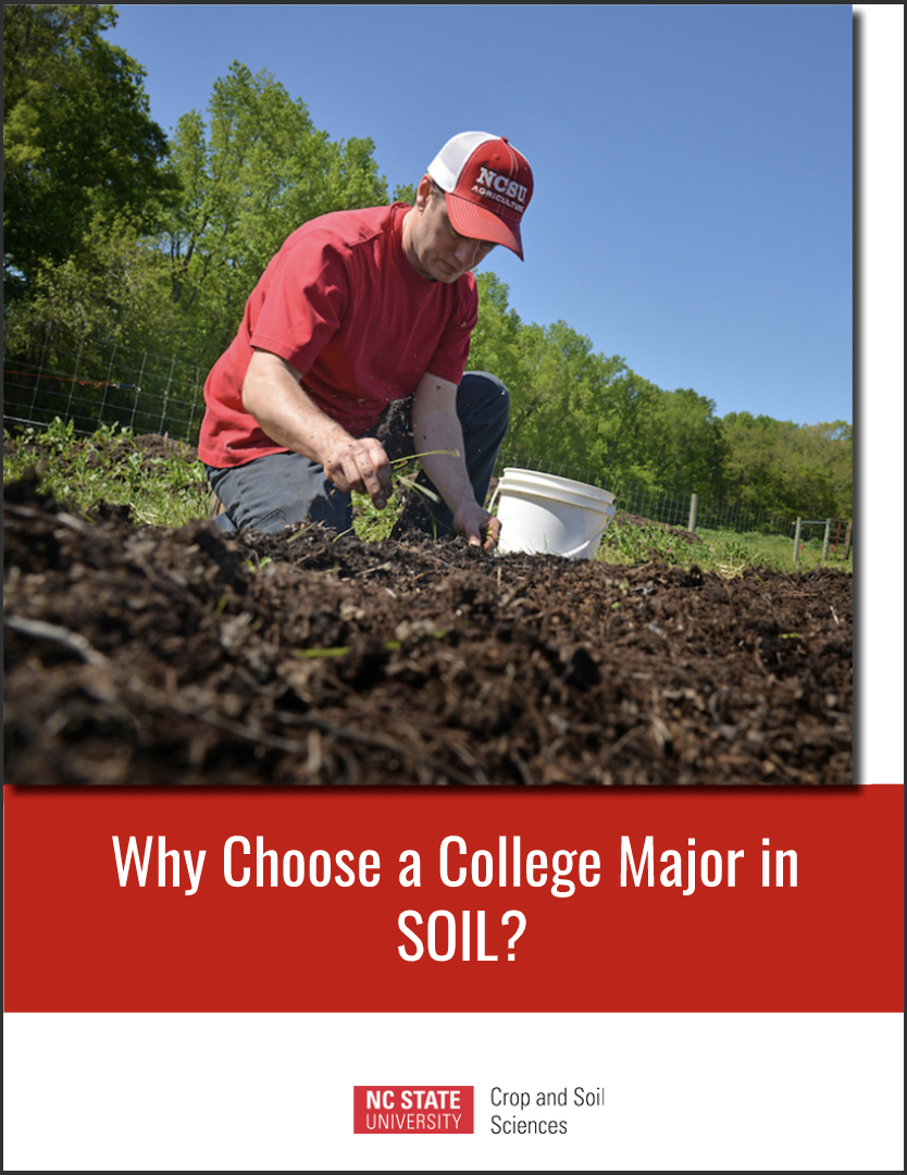 Ebook cover for soil science degree
