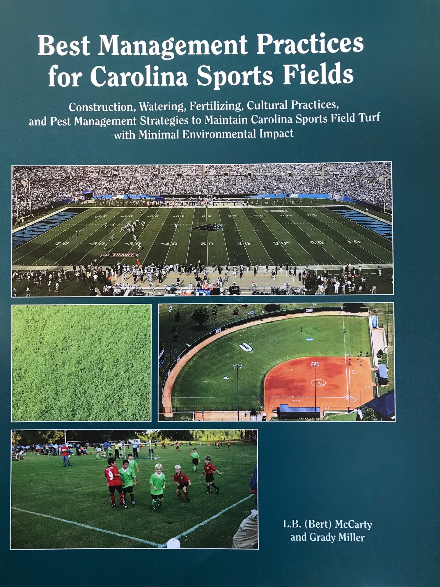 Sports turf management book cover
