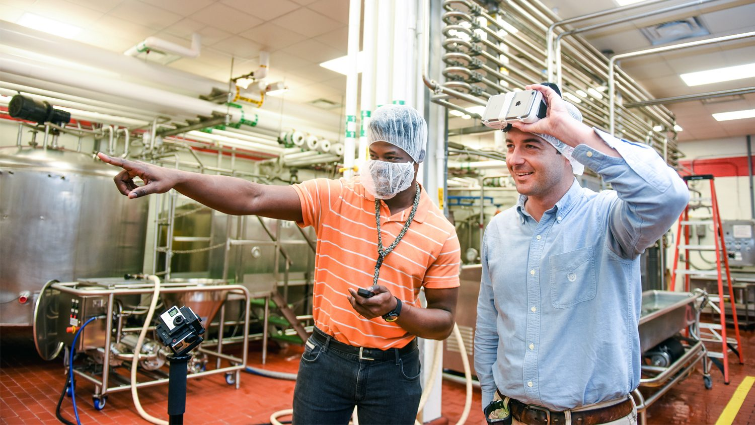 Researchers look at food plant