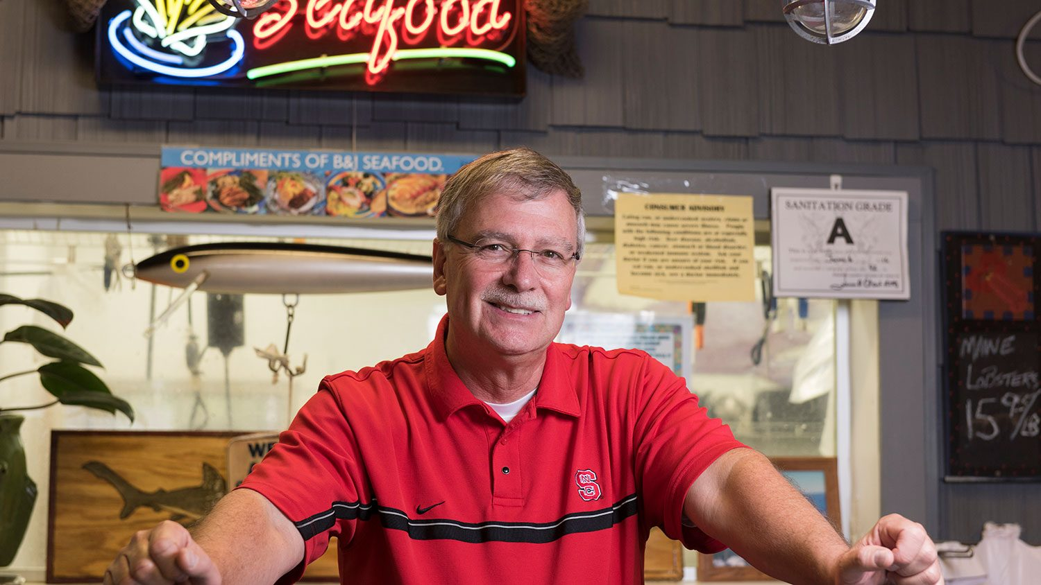Dr. David Green of the NC State Seafood Lab and CMAST