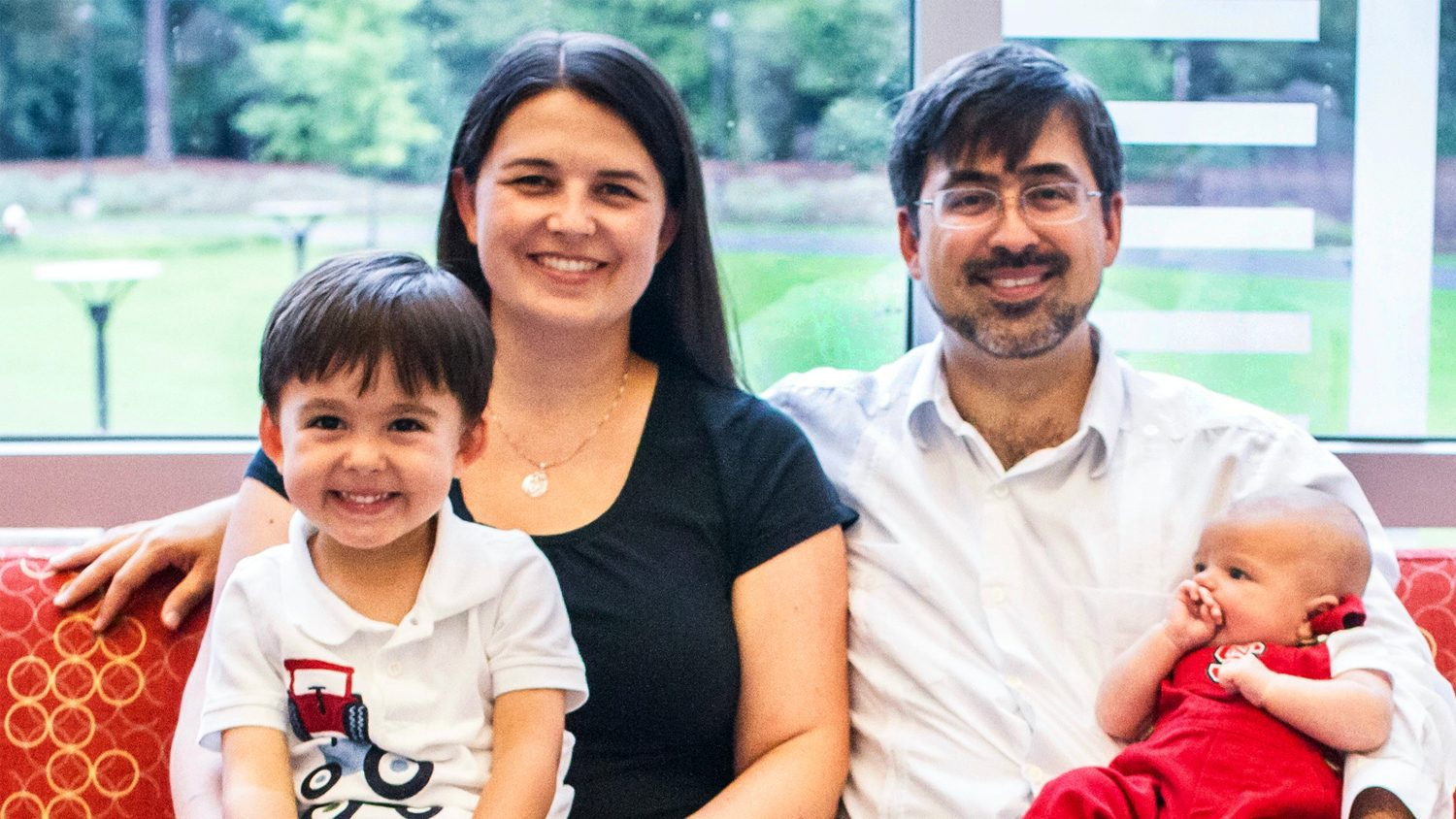 Caitlin Boon is a CALS alum, and her husband, Tomas Carbonell, is an NC State alum