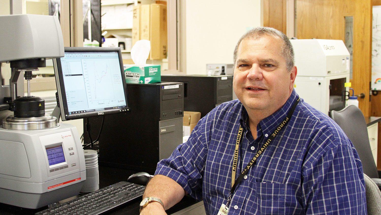 Bill Aimutis in a lab