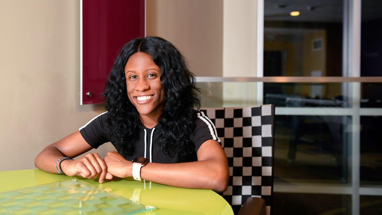 Dorcas Mabiala, nutrition science graduate