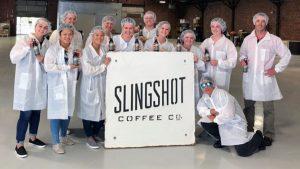 Summer Scholars Slingshot Coffee