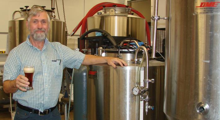 John Sheppard Wolfpack Brewing Beer