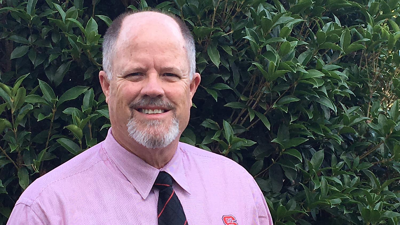 NC PSI Launch Director Stephen Briggs