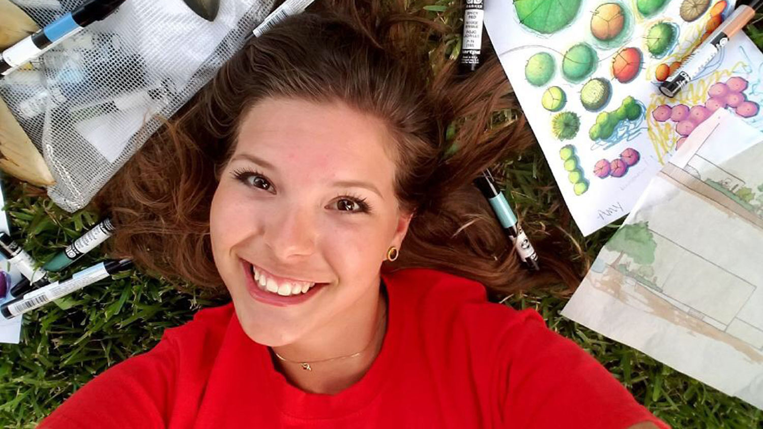 Horticultural Science student Amy Arnold