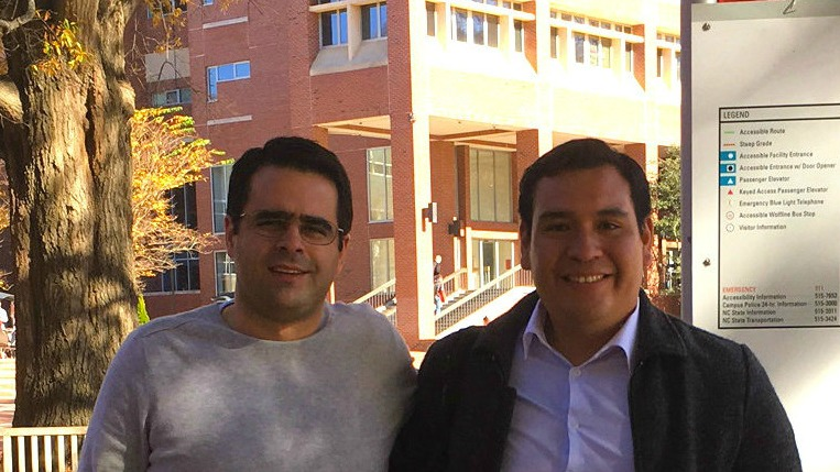 On November 28-December 2, 2016, NC State University was delighted to host Dr. Eduardo Fuentes, the coordinator of research for the Universidad Agraria La Molina in Lima, Peru.