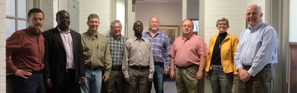 Dr. Godfrey Asea with NCARS Staff.