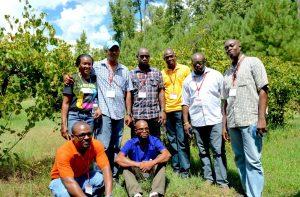 Fellows visiting agritourism farms