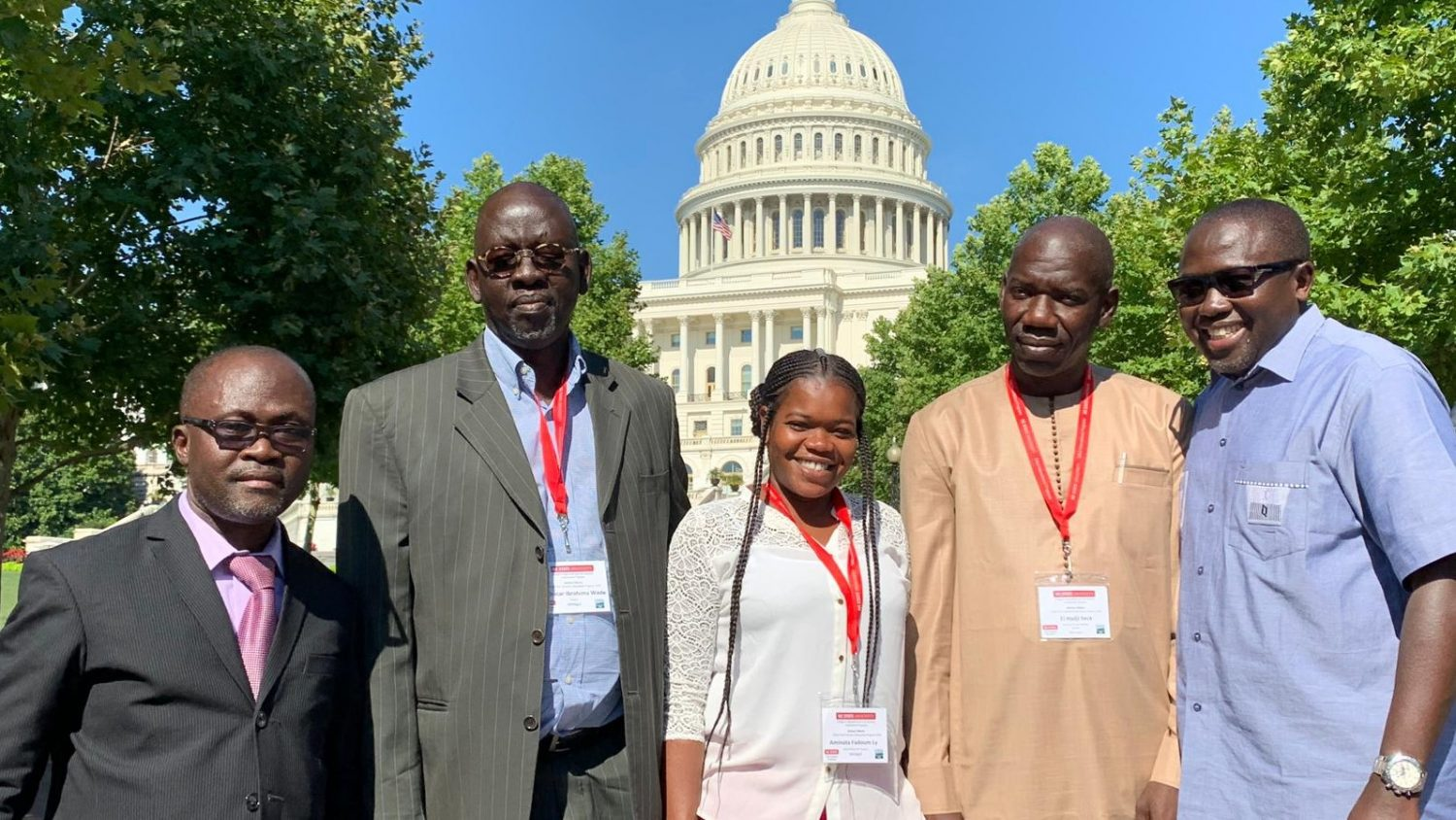 Senegal Cochran fellows in Washington DC