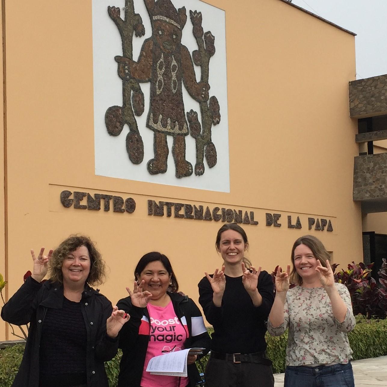 Jean Ristaino in Lima, Peru at the International Potato Center