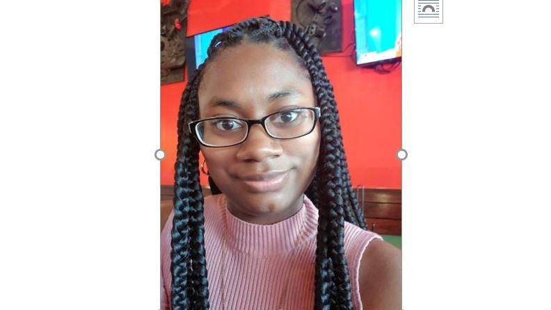 Destiny Tyson, international student spotlight