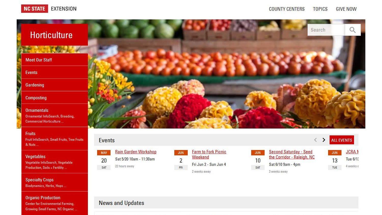 Horticulture Extension Portal