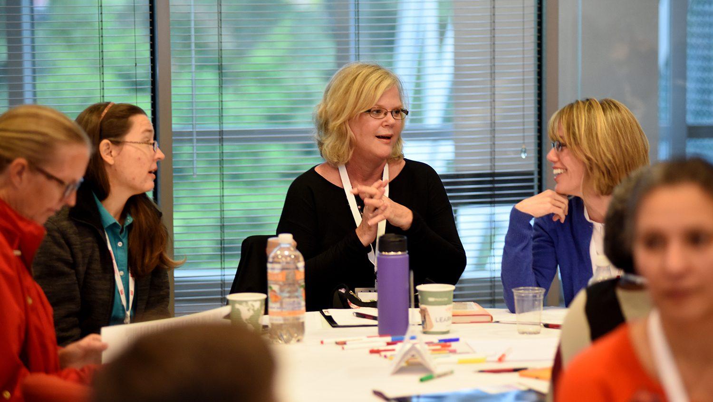CALS Leadership workshop in session.