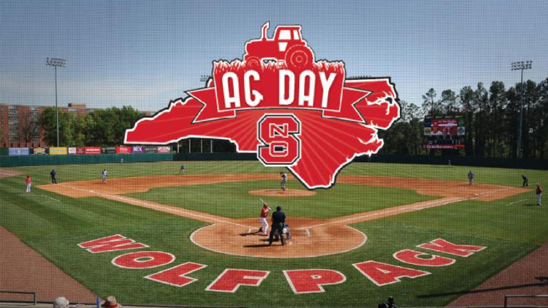 Ag day baseball game logo