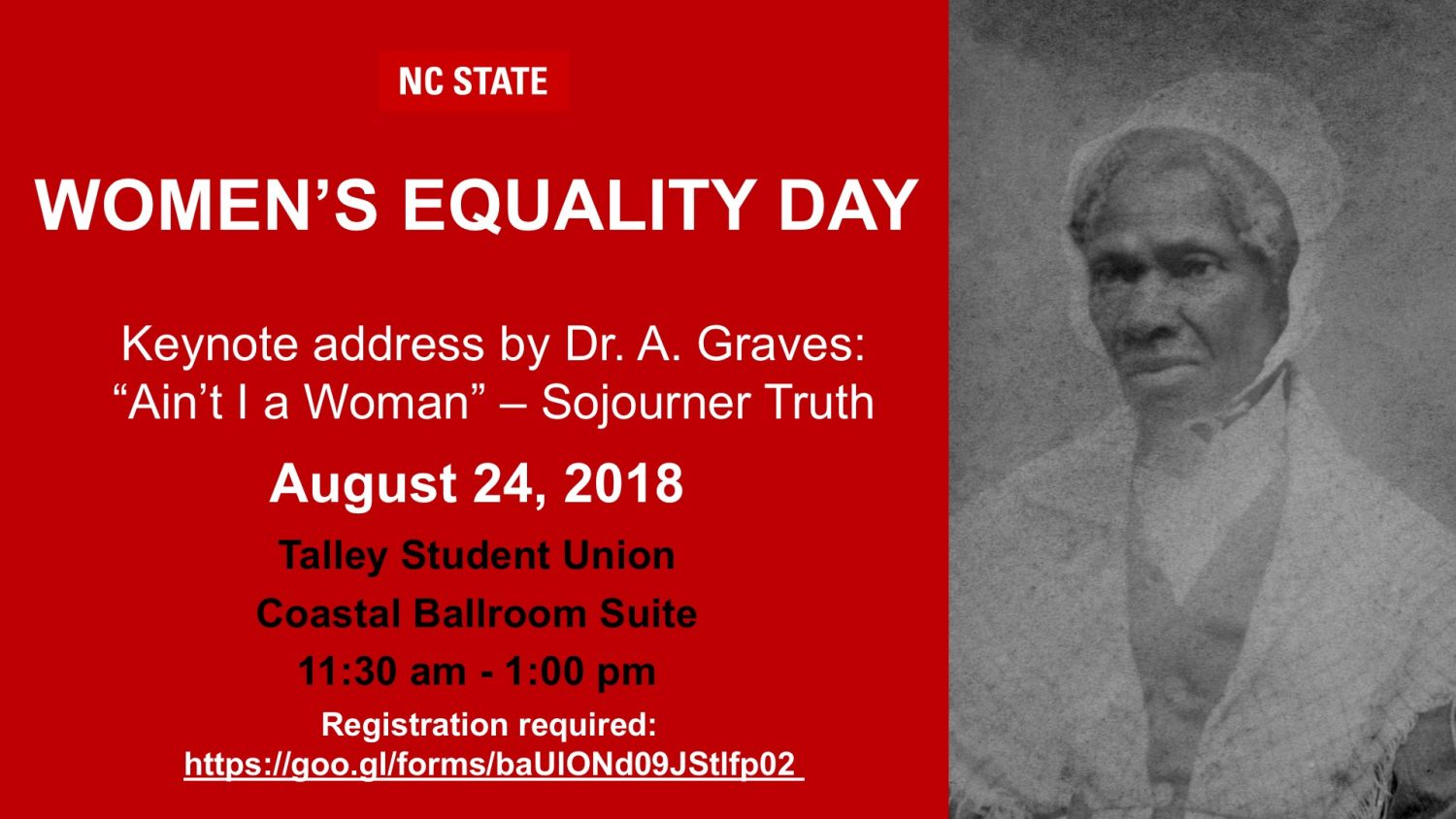 Register for the August 24th Women's Equality Seminar