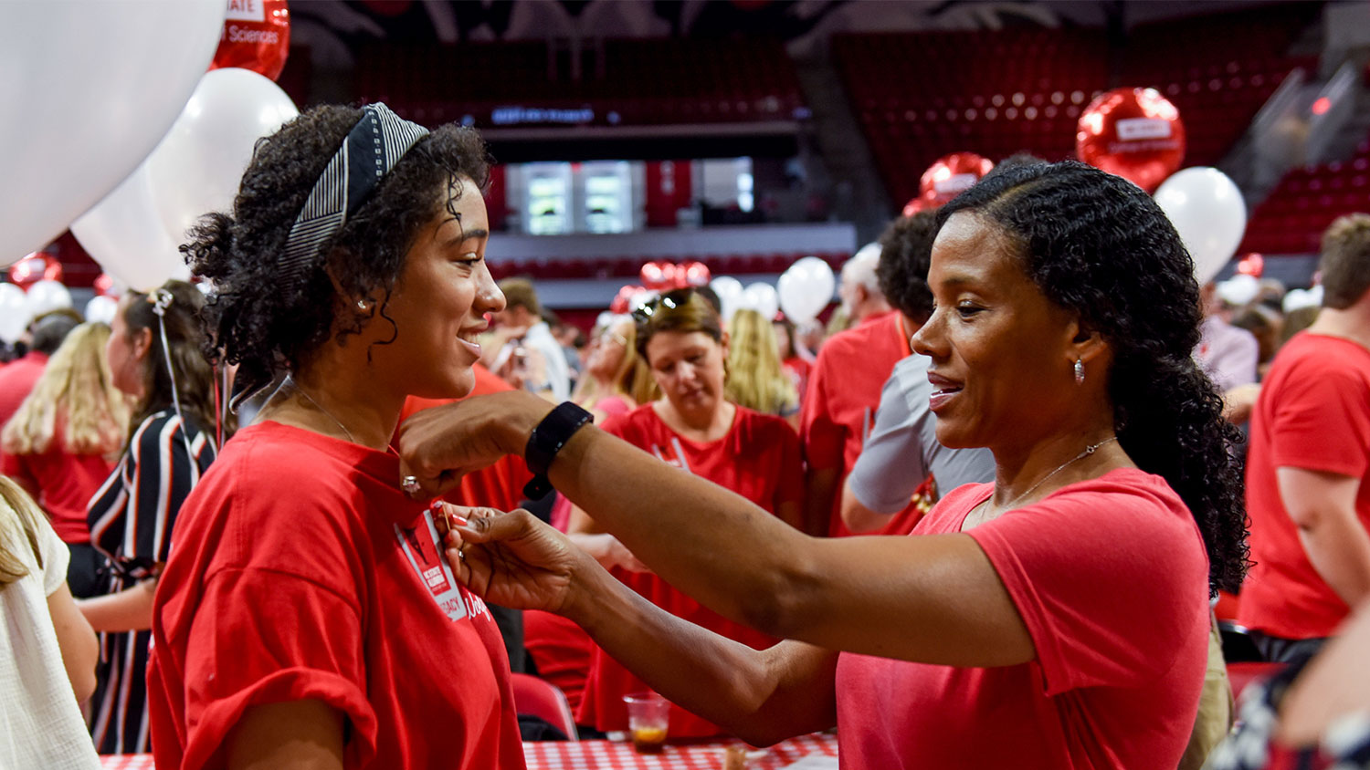 A mother and daughter both NC State Alumna