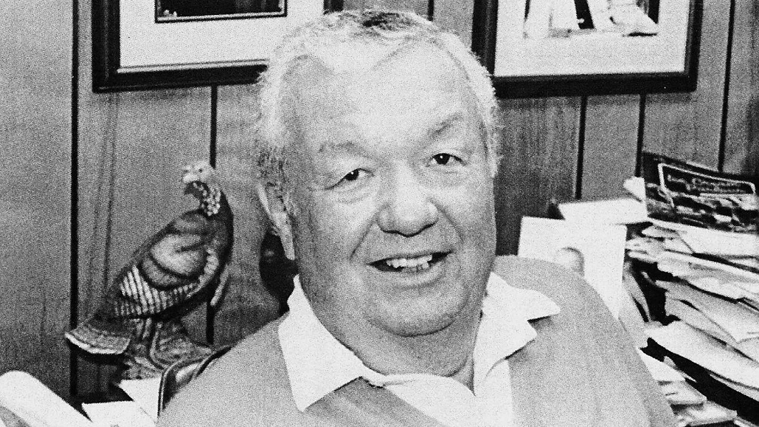 Marvin Johnson, founder of the House of Raeford and 1998 inductee to the Poultry Hall of Fame.