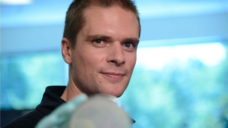 Close up of faculty member Rodolphe Barrangou.