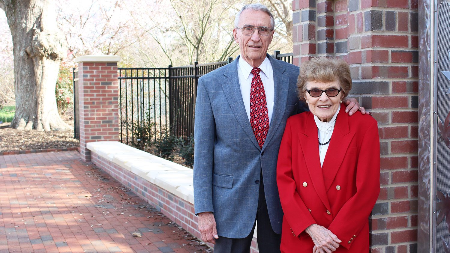 Drs Charles and Marilyn Stuber