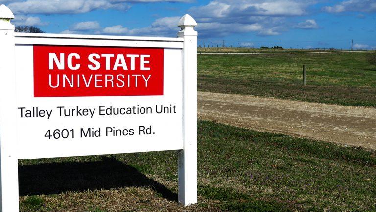 Talley Turkey Education Unit sign