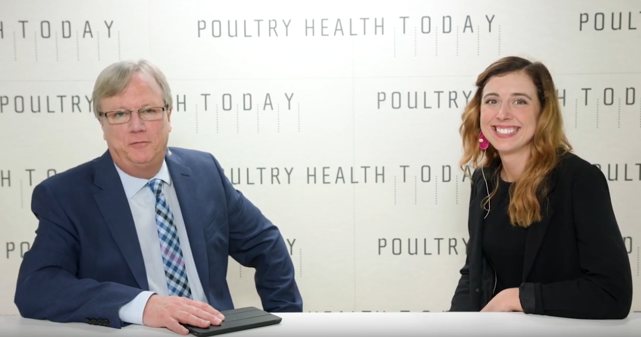 still image from Elle Chadwick's interview with Poultry Today