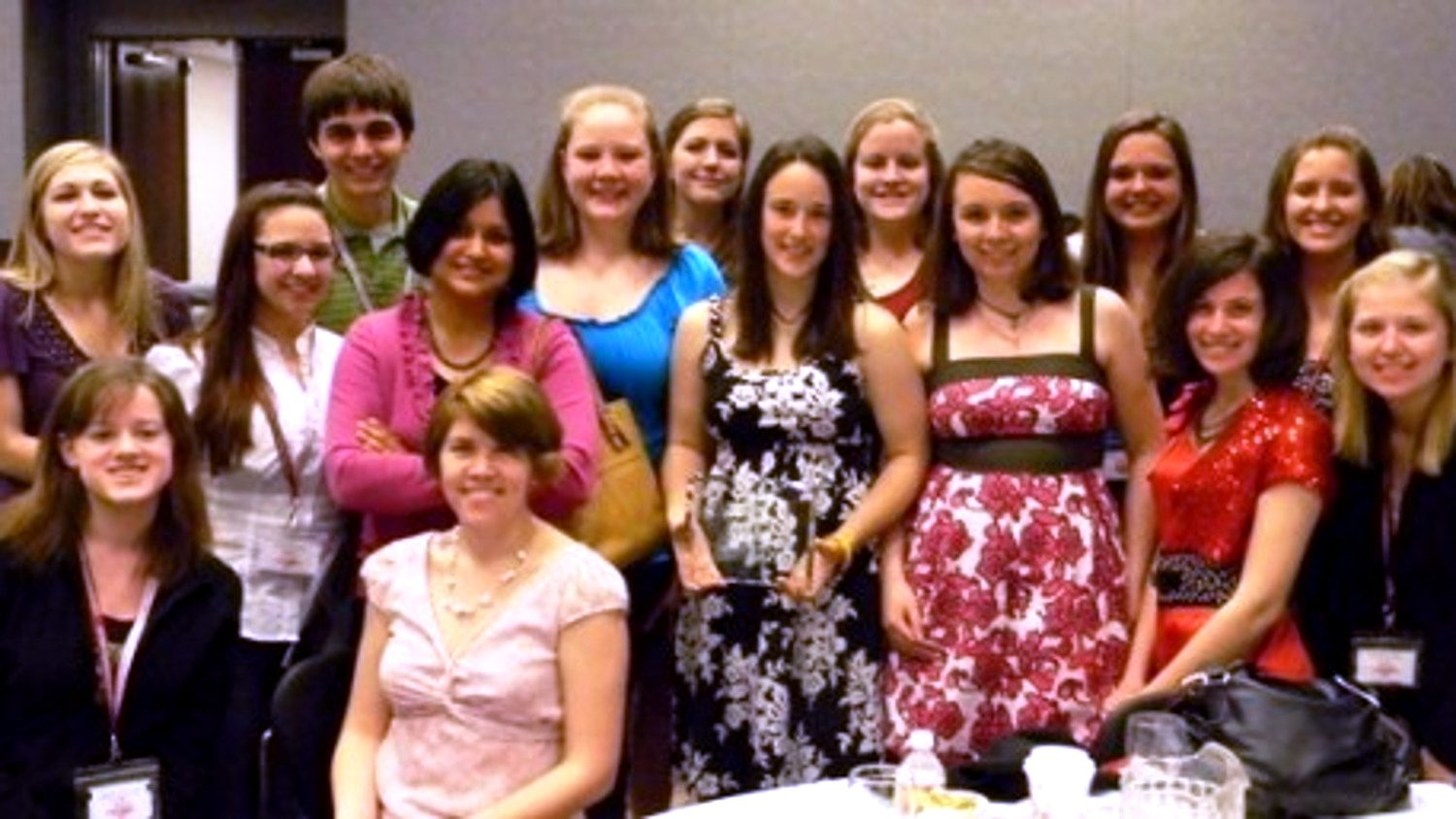 NC State students and Shweta Trivedi at the 2011 American PreVet Medical Association symposia