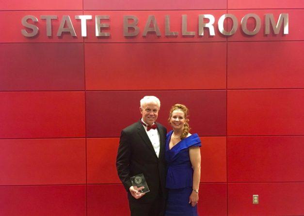 Dr. Joe and Deborah Gordon in Talley Ballroom