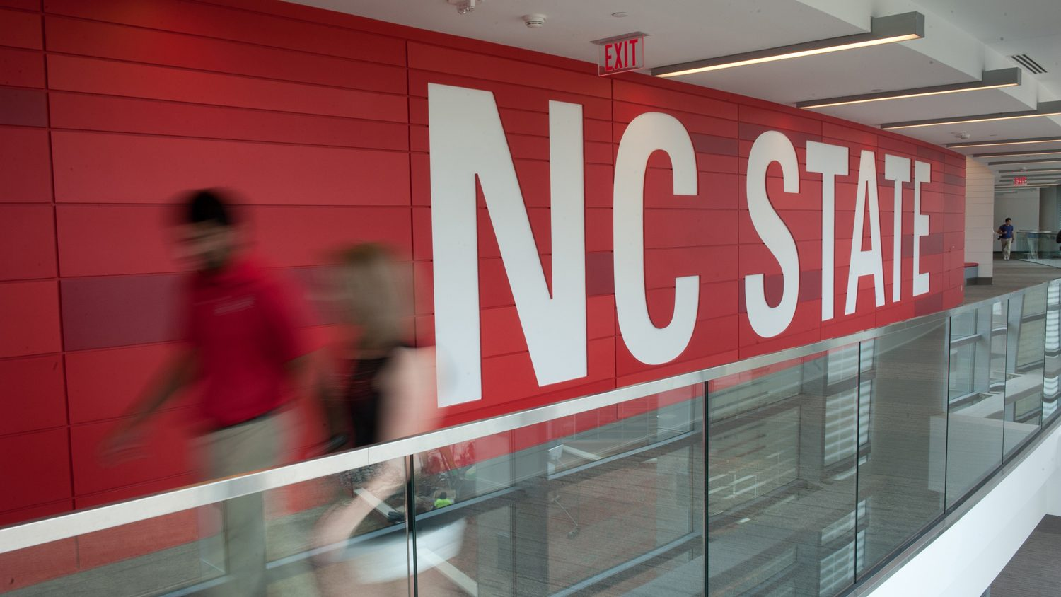 NC State Red Wall