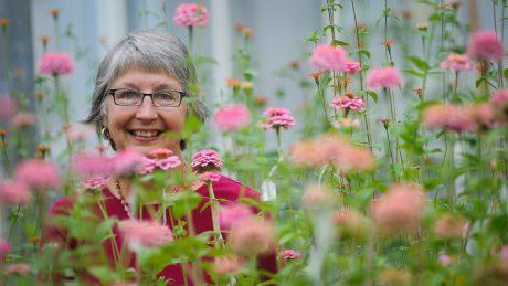 NC State University horticulture professor Julia Kornegay