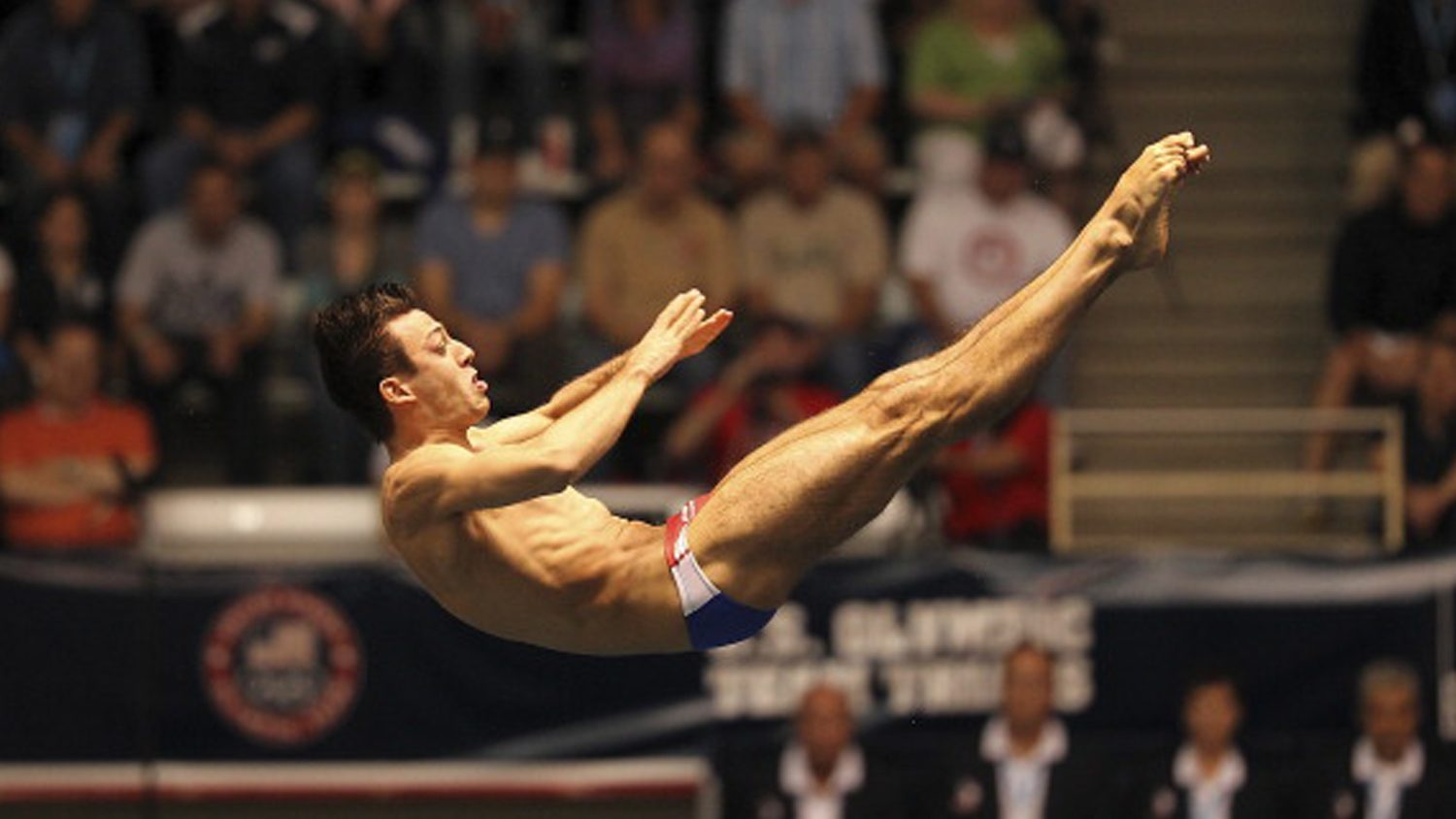 Nick McCrory dives in the Olympics
