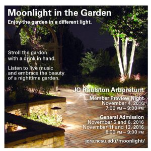 Upcoming events moonlight in the garden college of agriculture moonlight in the garden aloadofball Image collections