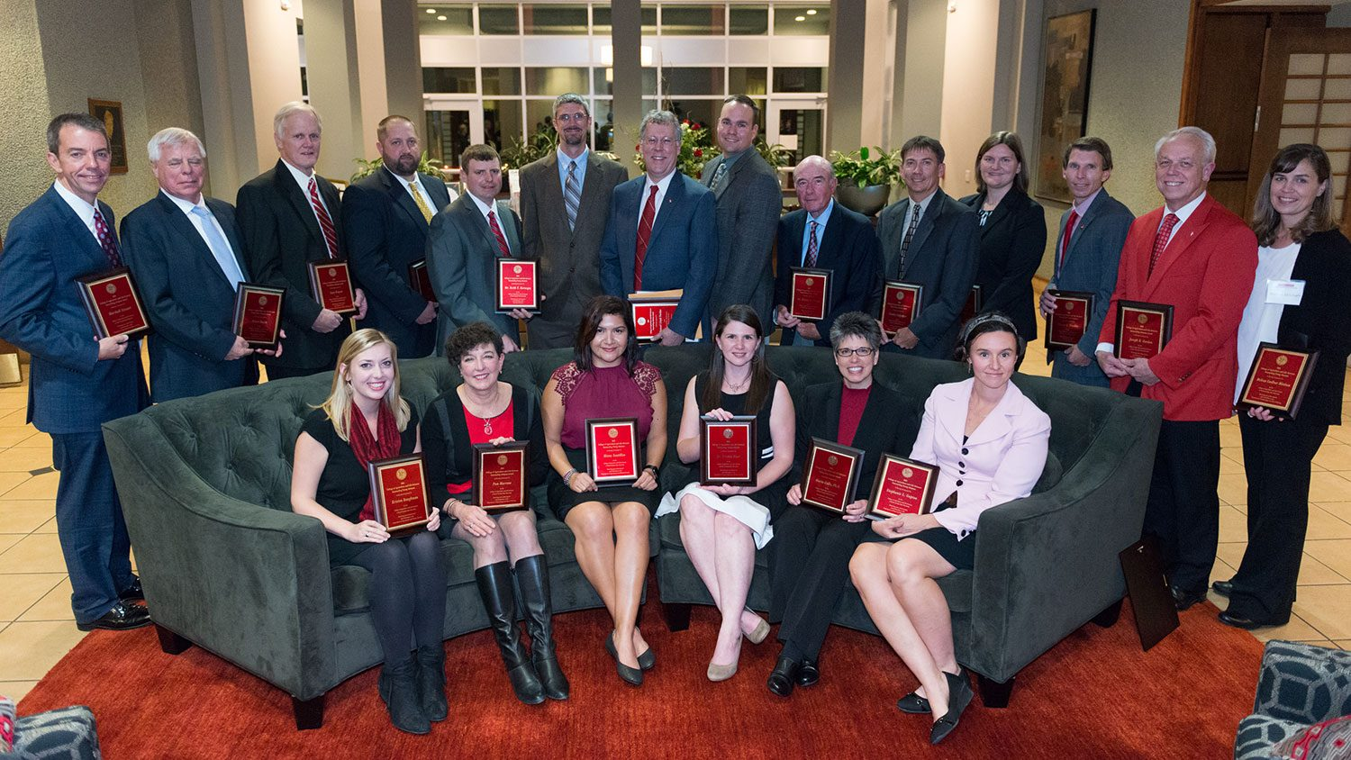 Winners of the CALS distinguished and outstanding alumni awards